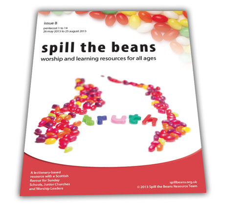 Spill the Beans Issue 8 Cover