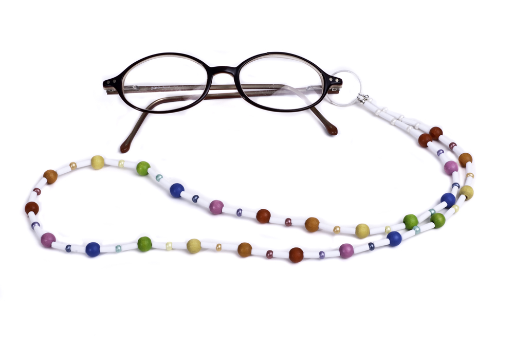 Glasses on chain