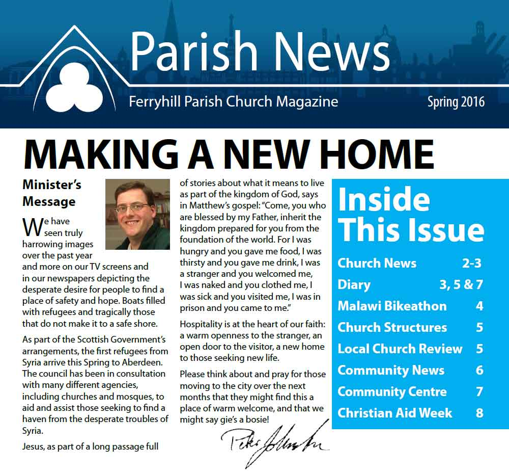 Parish News Spring 2016