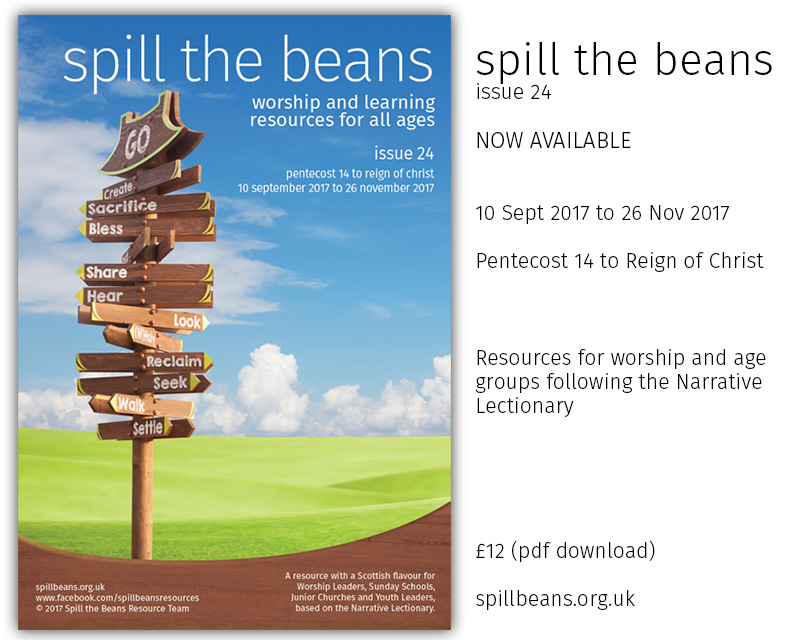 Spill the Beans Issue 24