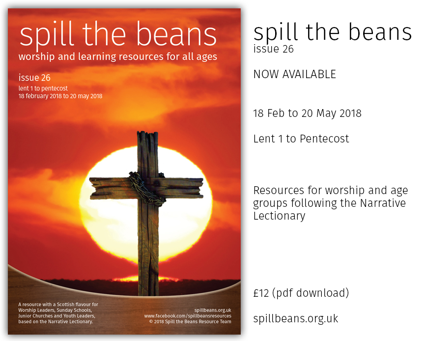 Spill the Beans Issue 26