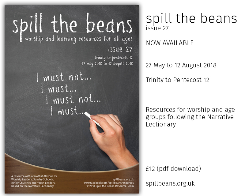Spill the Beans Issue 27