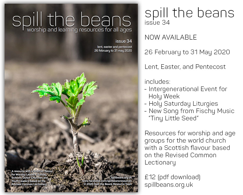 Spill the Beans Issue 34